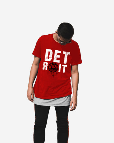 Detroit Series 001 Classic Tee (Red)