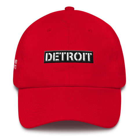 Detroit Box Logo Dad Hat
