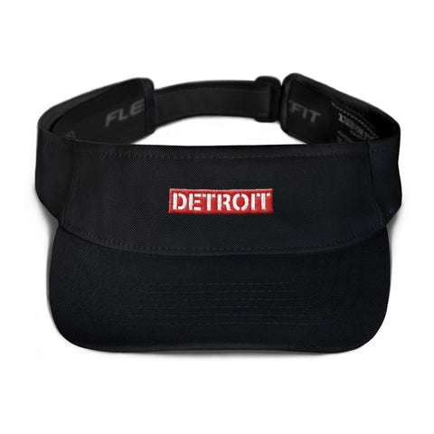 Detroit Box Logo Visor