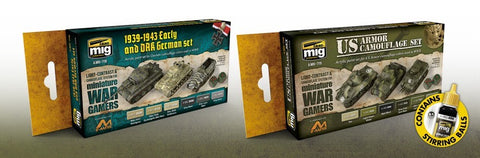 Wargame Color Sets