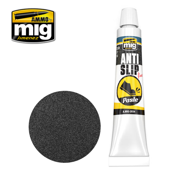 ANTI-SLIP PASTE - BLACK COLOR FOR 1/72 & 1/48