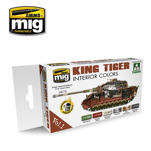 KING TIGER INT. COLOR (SPECIAL TAKOM ED. VOL. 1)