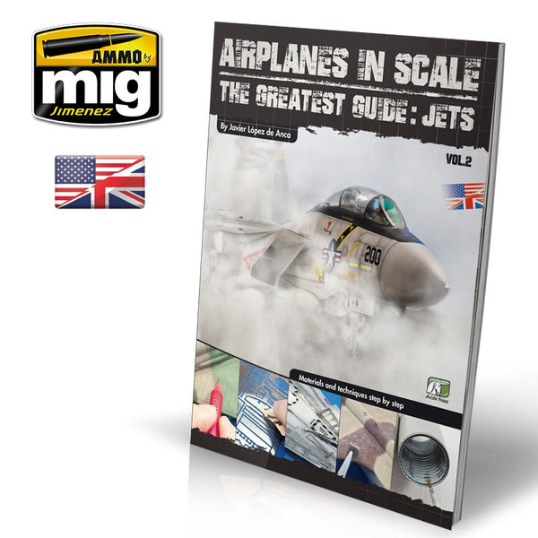 AIRPLANES IN SCALE: The Gratest Guide JETS ENGLISH