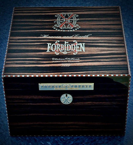 "The ""Heaven and Earth"" OpusX Forbidden X Humidor - Macassar Ebony"