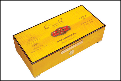 Opus22 Tenth Release Commemorative Humidor