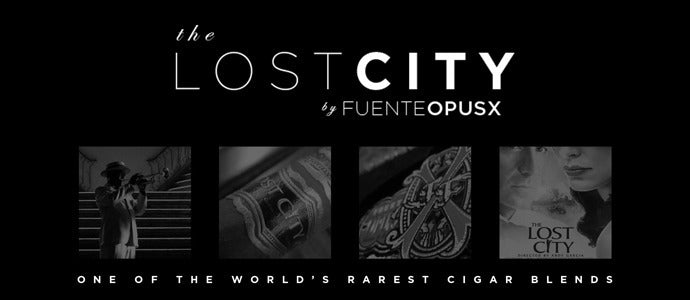 Fuente Fuente OpusX The Lost City Cigars
