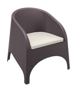 Panama Arm Chair  with Cushions - Free Shipping to selected areas
