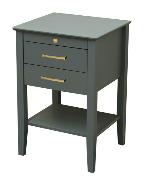 Belle Bedside Table - Baby Blue - Clearance items