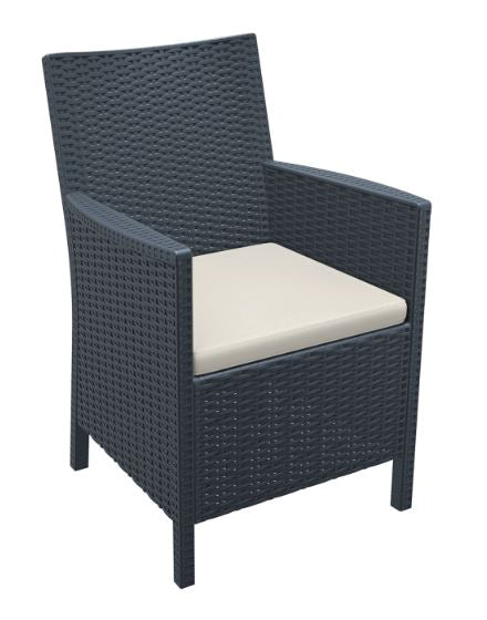 California Arm Chair with Cushion - Free Shipping to selected areas