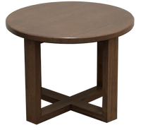 Sienna Round Coffee Table, Australian Made Solid Timber