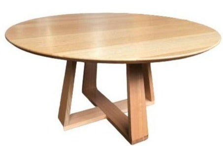 Delta Round Solid Timber Dining Table - Australian Made