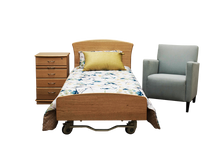 Load image into Gallery viewer, Huntley Solid Timber Head and Foot to Suit Hi-Lo and Lo-Lo Beds