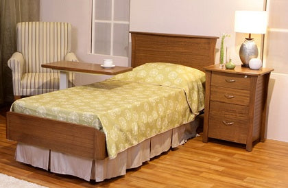 S500 Single Hi-Lo Bed with Linear Bedframe