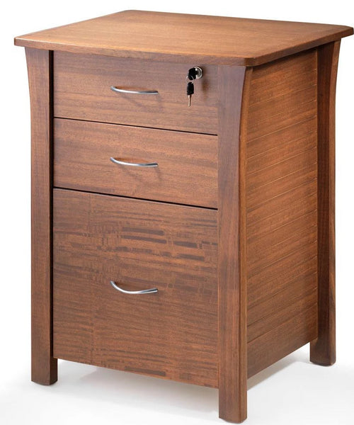 BSLIN704 Linear Bedside - Large 3 Drawer