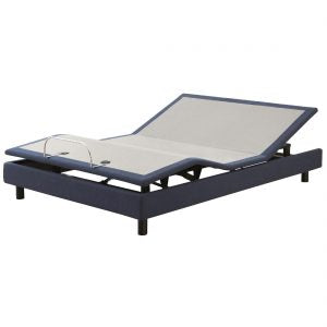 MLily Adjustable Bed Base with 2 Motors with Skirt - Free Shipping