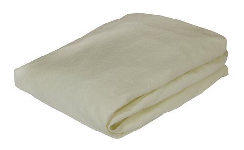 Comfort Fitted Sheet - White - Buy Pack of 10 to save 10%