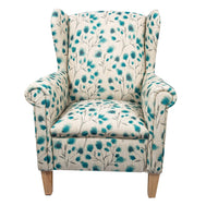 Shania Wing back chair in Alexandria Teal