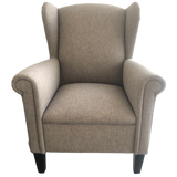 Shania Wing Back Chair - Australian Made