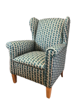 Shania Wing Back Arm Chair - Suitable for Aged Care - Water and Stain Resistant Fabric