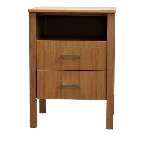 Soma Bedside - 2 Drawer & Shelf