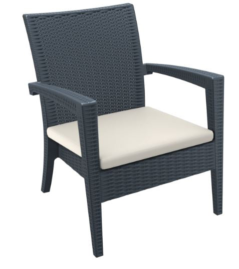 Tequila Arm Chair with Cushion - Free Shipping to selected areas
