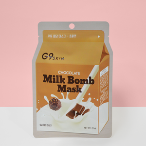 G9Skin Milk Bomb Mask Chocolate