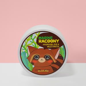 SecretKey Marine Racoony Hydrogel Eye & Multi Patch