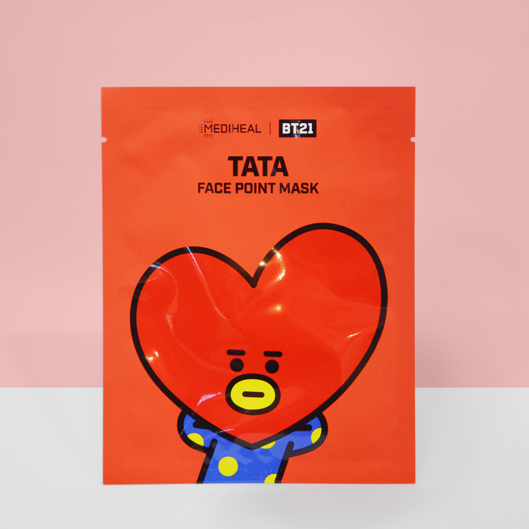 BT21 face Point Mask TATA