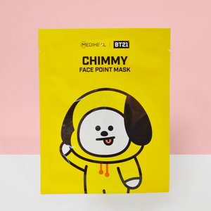 BT21 Face Point Mask CHIMMY
