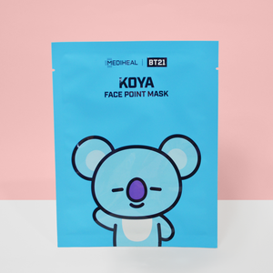 BT21 Face Point Mask KOYA