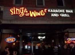 Sing it or Wing it Karaoke Bar