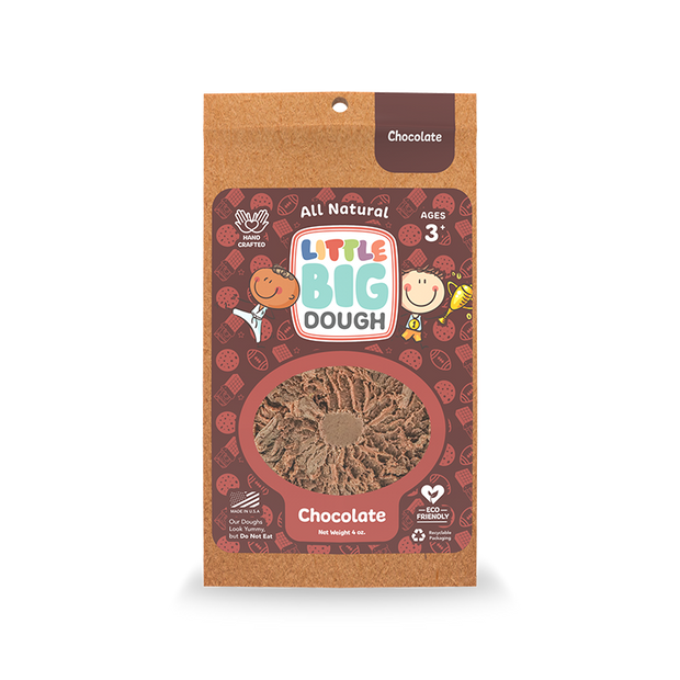 Chocolate Mini Play Dough 4 oz.