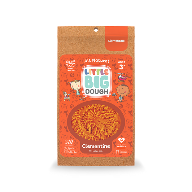 Clementine Mini Play Dough 4 oz.
