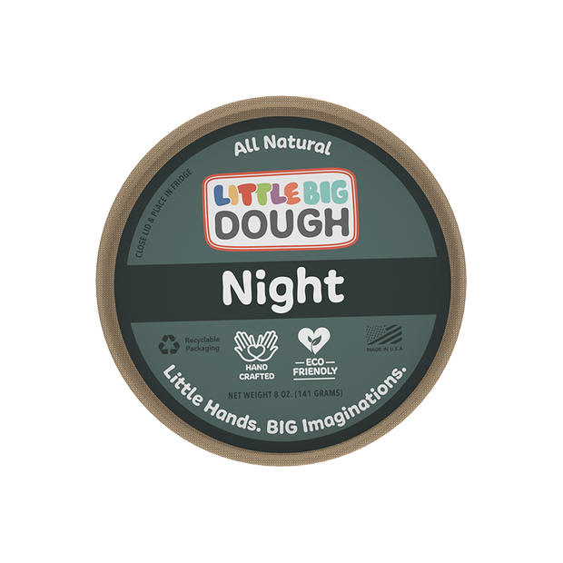 Night Play Dough 8 oz.