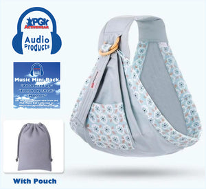 5 in 1 Audio Baby Carrier (Educational Music From PGK Music Box Included)