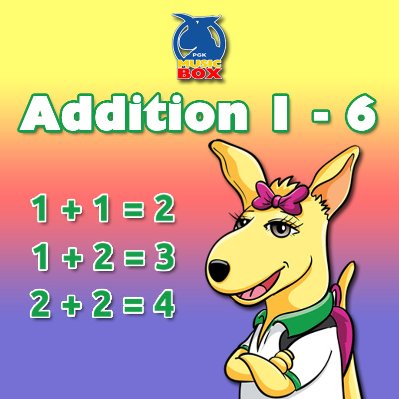 Copy of Addition 1 - 6 Free