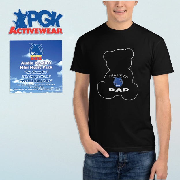 Certified PGK Dad Audio-Tee