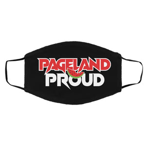 "Open image in slideshow, ""Pageland Proud"" FMA Med/Lg Face Mask"
