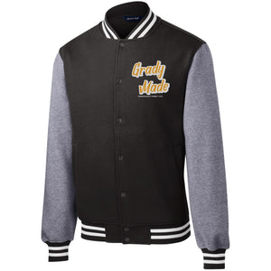 Open image in slideshow, Grady Family Fleece Letterman Jacket