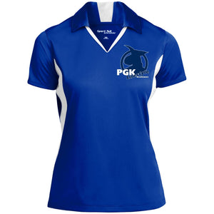 Open image in slideshow, Ladies' Colorblock Performance Polo