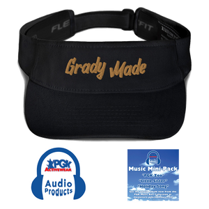 """Grady Made"" Visor (Educational Songs Included! Press play to hear the Samples that you can Download at Checkout, and Share!)"