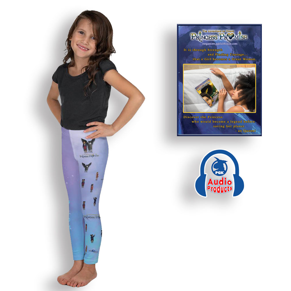 Young Princess Promise Kid's Leggings and Audio Story Book