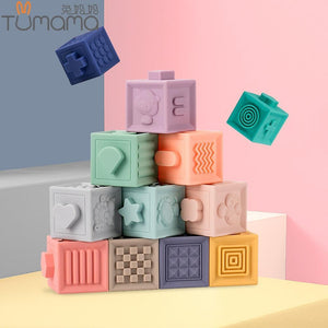 Soft Rubber Building Blocks