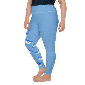 Jefferson Tough - All-Over Print Plus Size Leggings