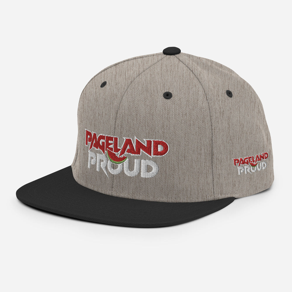 """Pageland Proud"" Snapback Hat"