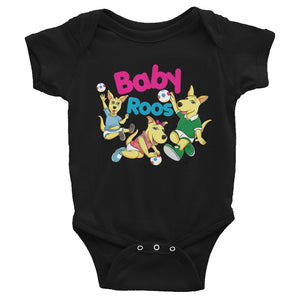 Open image in slideshow, Baby Roos Infant Audio Short Sleeve Onesie