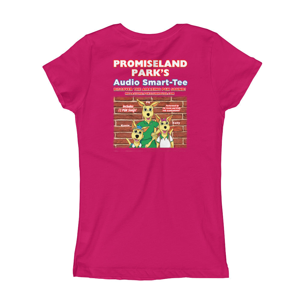 Promiseland Park's Girl's Audio Smart-Tee