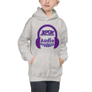 Open image in slideshow, PGK Audio Products Hoodie - Lavender Tone