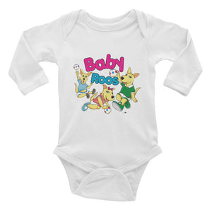 Baby Roos Infant Long Sleeve Audio Onesie
