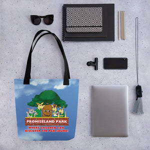 Open image in slideshow, Promiseland Park's Audio Tote Bag